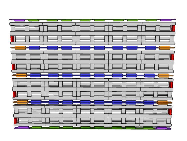 Mur-5-palettes par 4