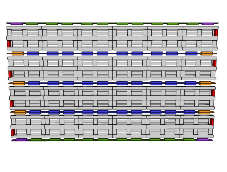 Mur-6-palettes par 4