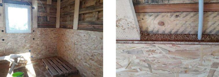 cablage murs exemple montage kit palettes 42m2
